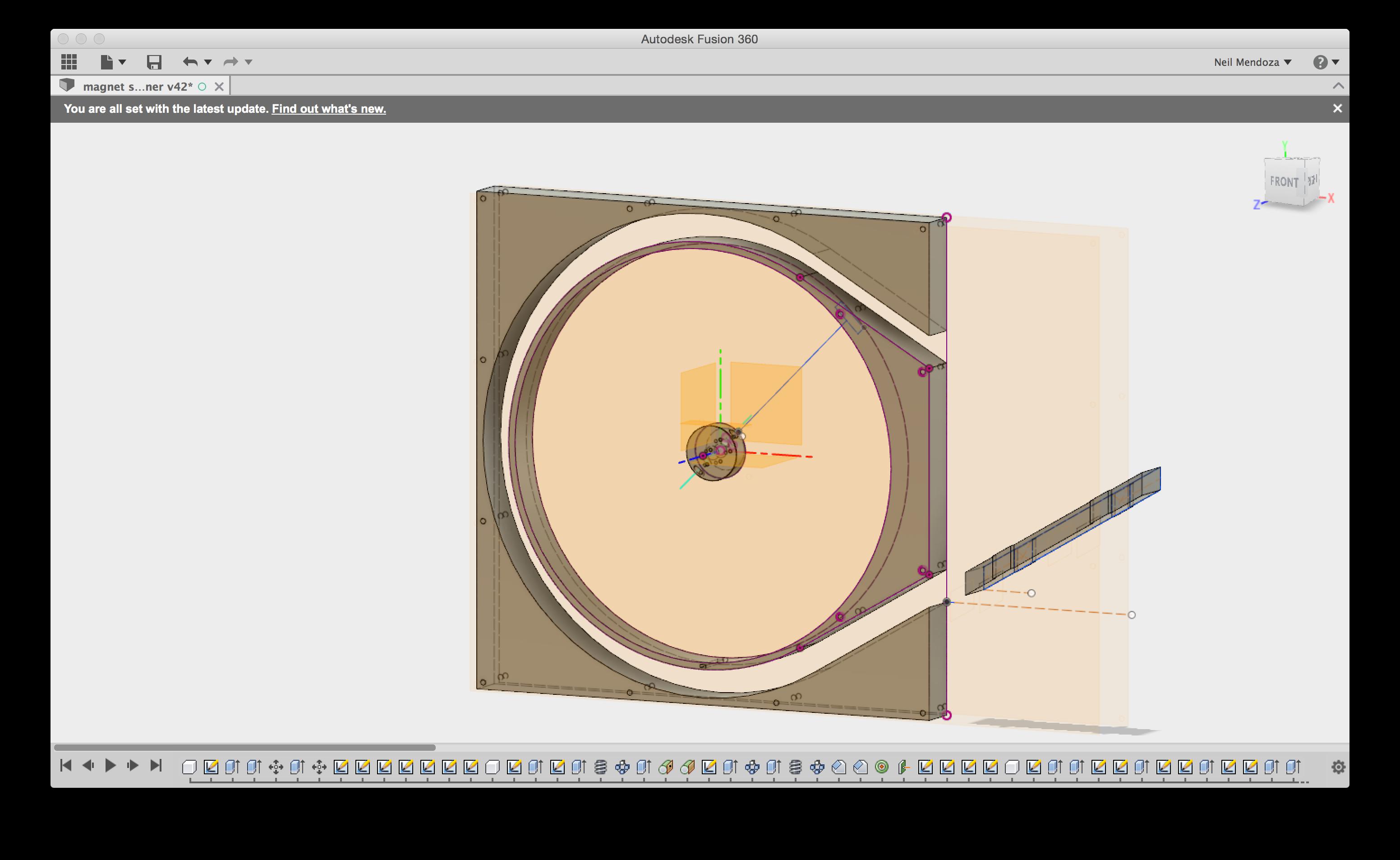 Neil Mendoza || Autodesk Fusion 360